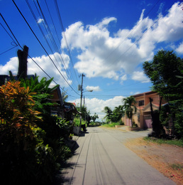 One Way Taken in Davao City, Philippines